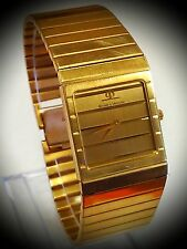 Stunning! Rare! Vintage! BAUME & MERCIER GENEVE 14k Y/ Gold Wristwatch ...!! # B