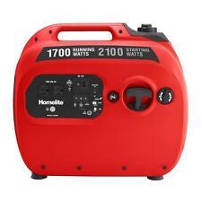 Homelite UTI2100R 2,100-Watt Red Gasoline Powered Quiet Inverter Generator