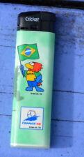 Briquet Cricket neuf collector 1994 Coupe du Monde de 1998 en France, Brésil
