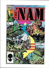 "THE 'NAM #1  [1986 VF+]  ""NAM: FIRST PATROL"""