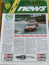 BRITISH RACING NEWS MAGAZINE #184 MAY 1996 NEW THRUST FOR TRUST RAC MSA FLAG SIG