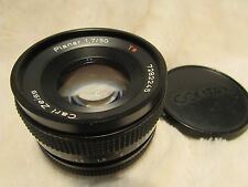 Carl Zeiss Planar T* 50mm f1.7 Contax / Yashica mount GREAT CONDITION with cap