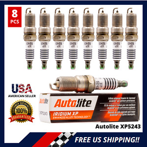8pcs IRIDIUM SPARK PLUGS For CHEVROLET SILVERADO 2500 GMC SAVANA 6.0L V8 XP5243