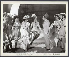 SUSANNA FOSTER leggy actress BOWERY TO BROADWAY Vintage Orig Photo 1949R