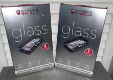 ZAGG Invisible Shield GLASS Max Clarity + Protection  For iPhone 6/6s (2) Bundle