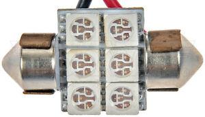 Dorman 3175G-SMD 3175 Green 5050SMD 6 LED Bulb