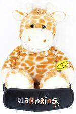 """Winston""Heated/Cooled,Multi Functional,18""Plush Giraffe Buddy/Backpack-Warmkins"