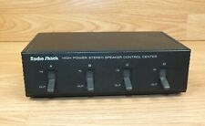Genuine Radio Shack (40-136) High Powered Stereo Speaker Control Center *READ*