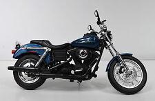 Harley-Davidson 2004 Dyna Súper GLIDE SPORT AZUL 1:12 modelo de Motocicleta
