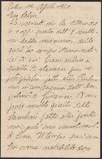 KT0818 Rodi (Grecia) 1940 - Lettera di un soldato italiano al padre