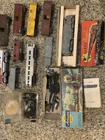 Lot of 10 Ho Scale Freight Train Box Cars Athearn  (Used) Missing Pieces/Parts.