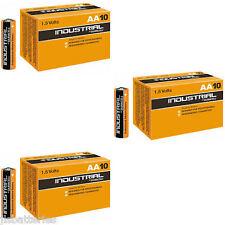 30 x AA Duracell Industrial Alkaline Batteries MN1500 LR6