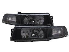 MIRAGE 1998-2001 Sedan 4D Clear Headlight Black for Mitsubishi LHD