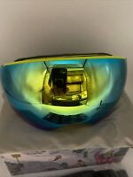 AKASO OTG Ski Goggles, Snowboard Goggles, Mag-Pro Magnetic Interchangeable Le...