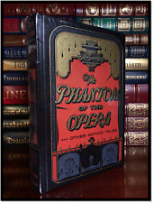Phantom Of The Opera & Gothic Tales Sealed Leather Bound Gift Poe H.P. Lovecraft