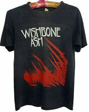 New listing Wishbone Ash T Shirt Vintage 70s Andy Powell Steve Upton British Rock Band Tee
