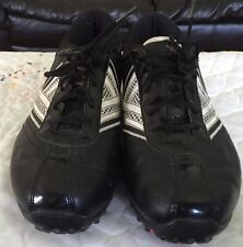 Nike Track Soft Cleats Black And White Size 8 shoes