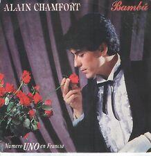 ALAIN CHAMFORT 45 Espagne 1981 Bambou ( SERGE GAINSBOURG )