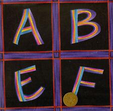 Bernatex - Grandma's House - Alphabet Panels 100% Cotton Black/Multi Colour