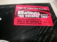 "The Beatnuts No Escapin' This 12"" Single NM Loud RPROLP4473 2000"