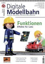 MIBA Eisenbahn Journal Digitale Modellbahn 16 Funktionen - Effekte für Loks 3-20