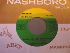 Freddie North: Song #29 (I'm Your Man) / Laid Back And Easy 45 - Soul