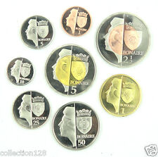 Bonaire Coins Set of 8 Pieces 2011, Fantasy Coinage