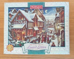 """Waddingtons Limited Edition Puzzle """"The Night Before Christmas"""" 1000 pieces"""