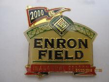 NEW--ENRON FIELD Inaugural Season 2000 Pin--Astros--Now Minute Maid Park