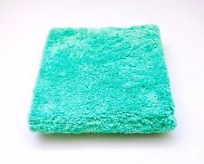 Monster Detail Ultra Plush Green Edgeless Microfibre Car Buffing Cloth