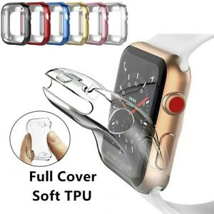 For Apple Watch Series 5 4 3 2 1 38/42mm 40/44mm iWatch Soft TPU Cover Case