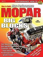 Mopar Build Max Performance Mopar 383 400 413 440 Wedge
