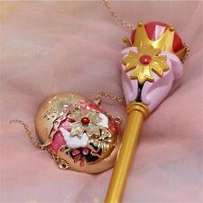 Anime Cosplay Stick Sailor Moon Princess Serenity Magic Wand Gel Pen Ballpoint