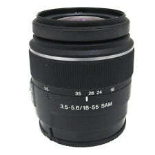 Sony DT 18-55mm F3.5-5.6 SAM SAL1855 Camera Lens Focus AF from Japan