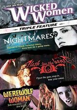 Wicked Women: Nightmares Come at Night/Flesh for the Beast/Werewolf Woman LiteBo