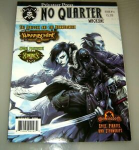 """Privateer No Quarter Magazine #4 """"Spies, Pirates and Steamships, The Spriggan"""