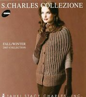S. Charles Collezione Fall Winter 2007 Womens Knitting Book Tahki Stacy Charles