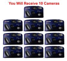 10-Pk Halina Ansco Easy Vision 35mm Film Camera Vintage Point & Shoot Flash