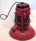Vintage Red Globe Dietz No. 40 Traffic Gard Lantern Syracuse NY