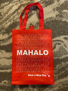 Target Reusable Shopping Bag Tote Hawaii Special Edition Bag Mahalo NWT!