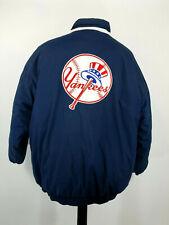 Vintage 90s Starter New York Yankees Jacket Coat Insulated Mens XL Blue