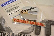 2004-2005 Dodge Ram CUMMINS Turbo Diesel Emblem OEM New