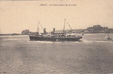 UNITED KINGDOM ENGLAND JERSEY bateau boat victoria en excursion