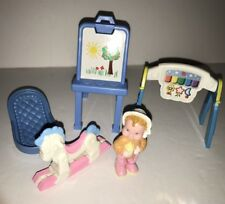 Fisher Price Loving Family Infant Furniture, Equipment+ Infant/Baby Doll+MORE!