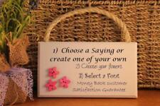 Unbranded Birthday Modern Decorative Plaques & Signs