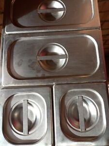 BUFFALO BAIN MARIE FOOD WARMER POWER 1.3 KW 4 POT  VGC