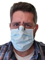 5 Pinzas anti vaho mascarilla,anti-fog,puente nariz,anti empañamiento,antivaho