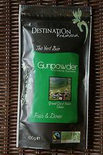 Thé vert Gunpowder Bio / Organic Green Tea Gunpowder 100g – DESTINATION