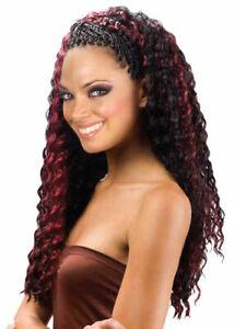 Aftress Bulk Deep Twist Long Bulk Curly Crochet Braiding Hair 18 inch