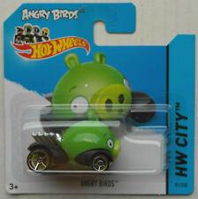Hot Wheels angry birds Minion verde nuevo/en el embalaje original 2014 HW rovio Entertainment Ltd. Toy